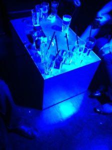 Selten auf dem Hurra.com OMClub 2010: Leere Gläser