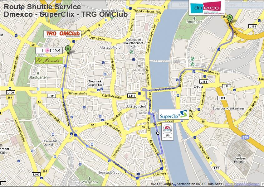 Alle Infos für den TRG OMClub 2009
