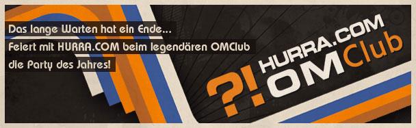 Hurra.com OMClub – jetzt kommen die Tickets für die dmexco Party!
